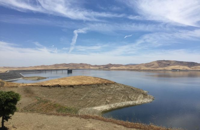 San Luis Reservoir — It's Been Wetter